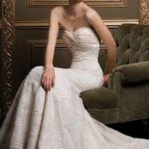 Demetrios '1356' wedding gown